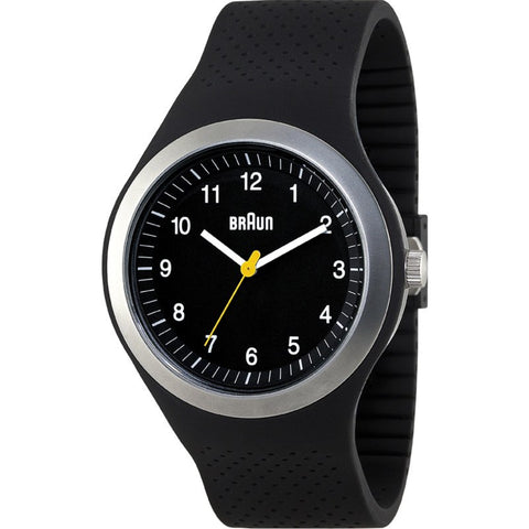Braun BN0111 Black Sports Watch | Silicone BN0111BKBKG