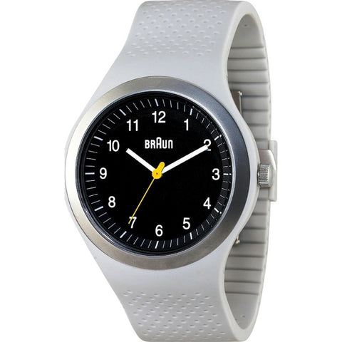 Braun BN0111 Light Grey Sports Watch | Silicone BN0111BKLGYG