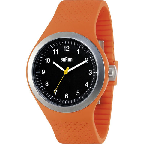 Braun BN0111 Orange Sports Watch | Silicone BN0111BKORG
