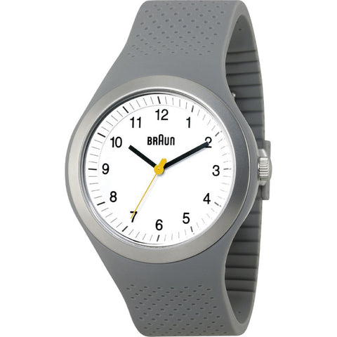 Braun BN0111 Grey Sports Watch | Silicone BN0111WHGYG