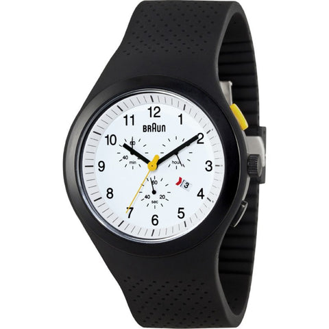 Braun BN0115 White Sports Watch | Silicone BN0115WHBKG