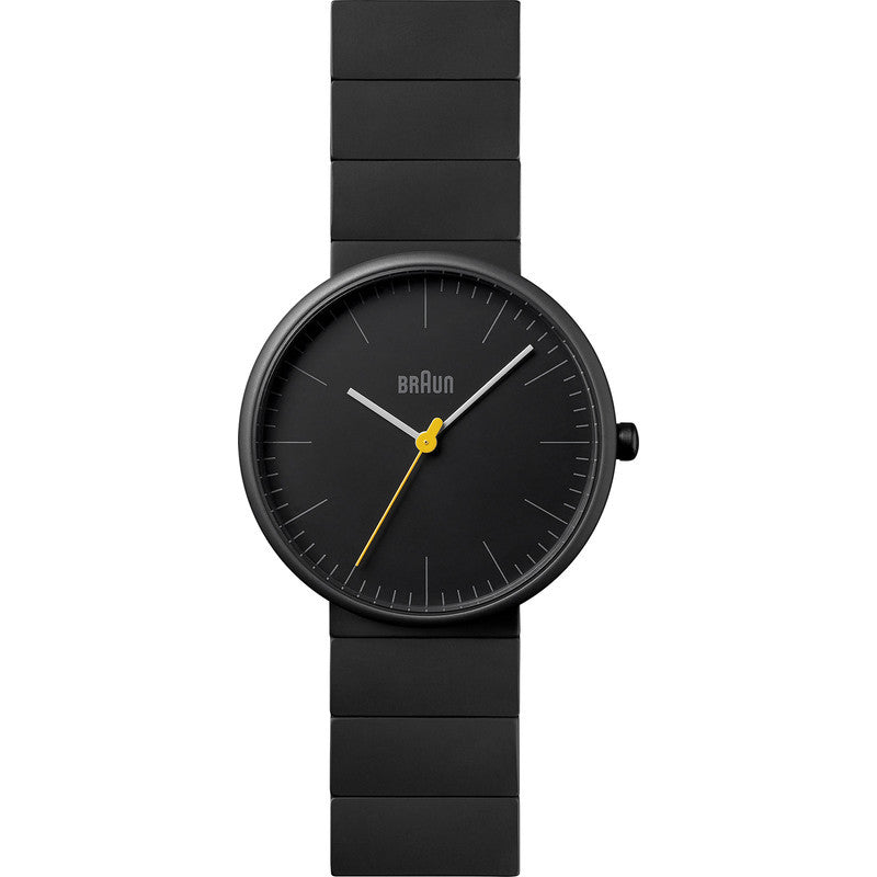 Braun BN0171 Full Ceramic Analog Men's Watch | Black BN0171BKBKG