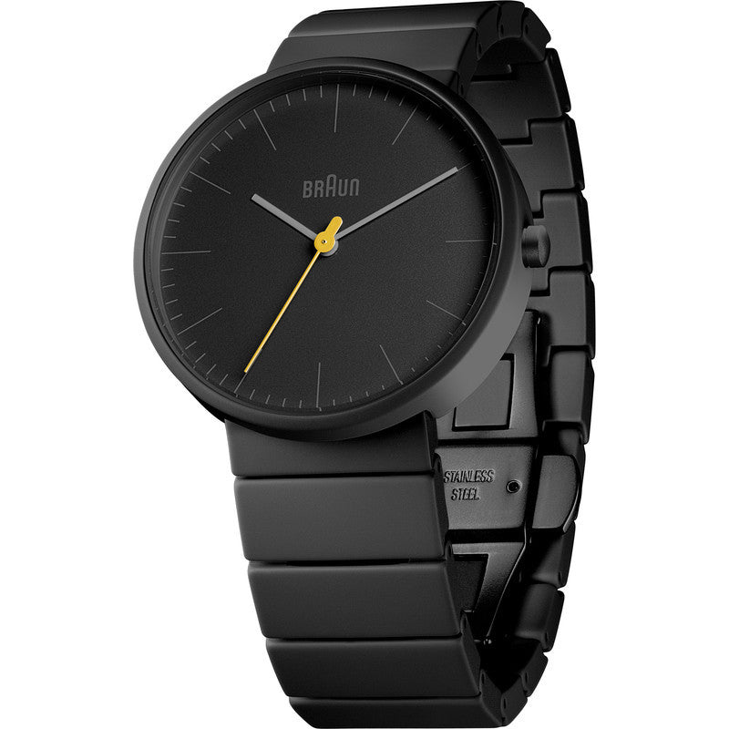Braun BN0171 Full Ceramic Analog Men's Watch | Black