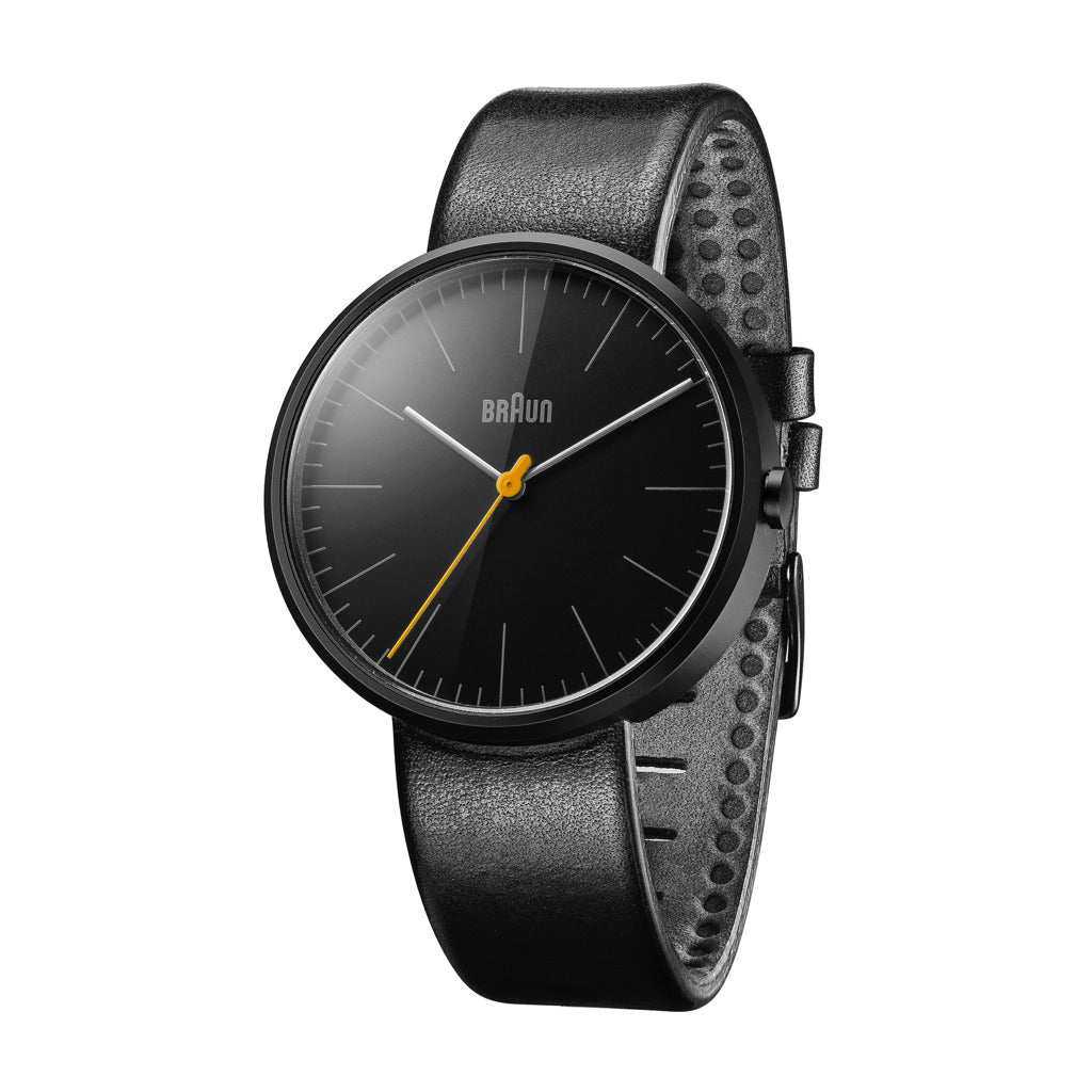 Braun 0172 Ceramic Analog Men's Watch | Leather