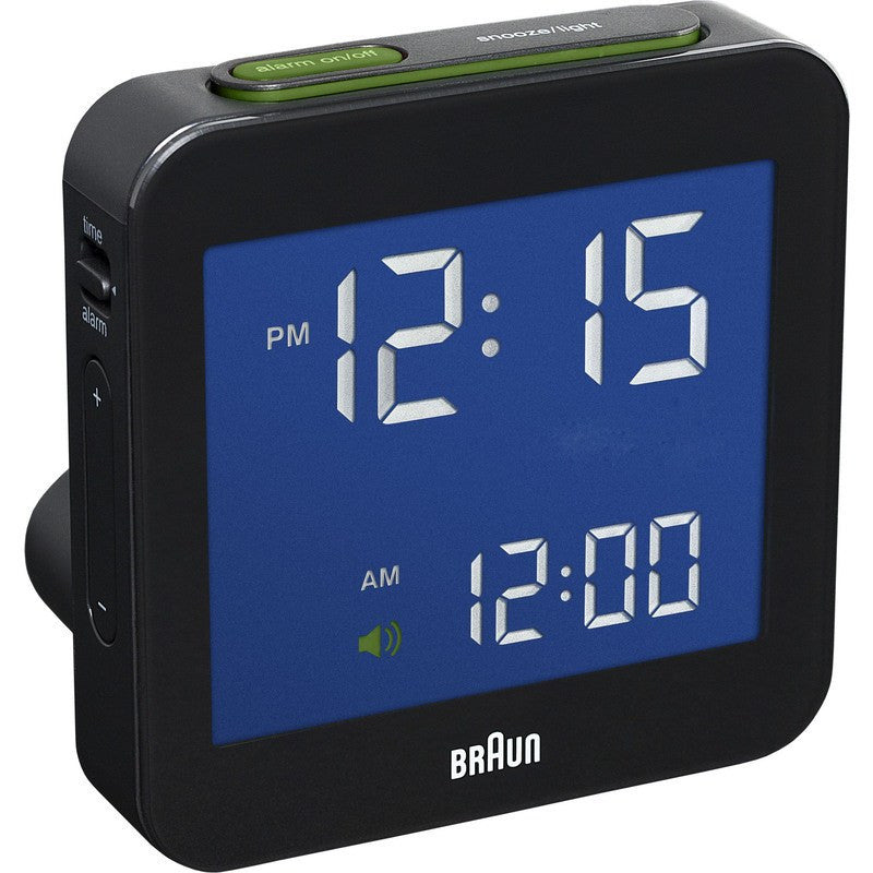 Braun Digital Alarm Clock | Black
