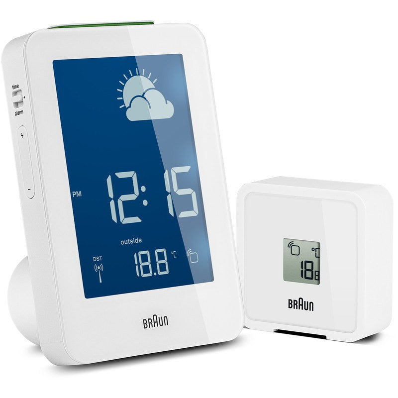Braun Radio Controlled Weather Station | White BNC013WH-RC