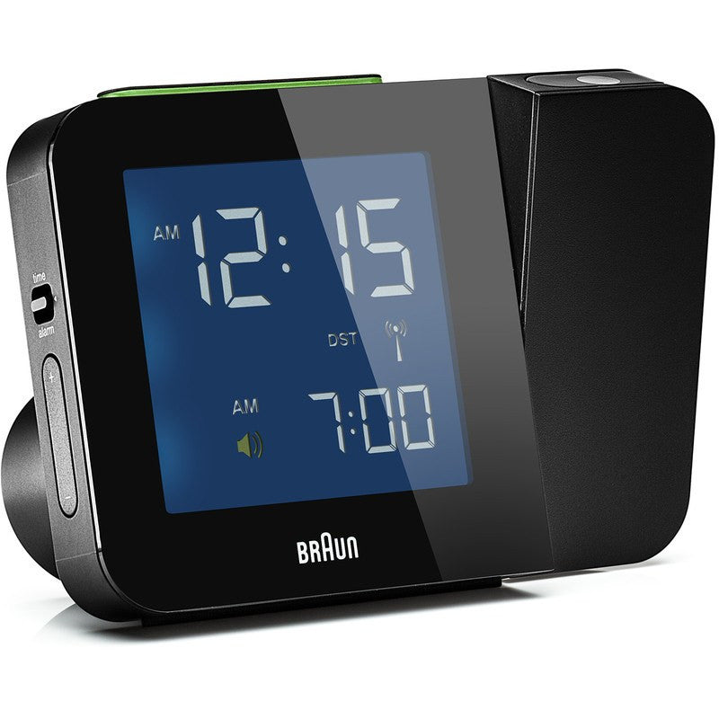 Braun Projection Clock | Black