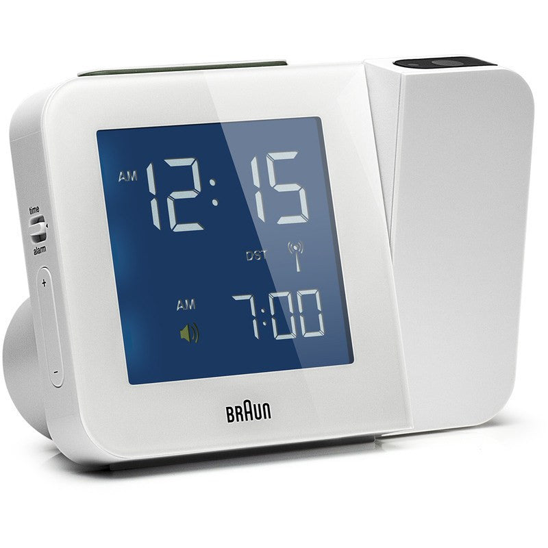 Braun Projection Clock | White