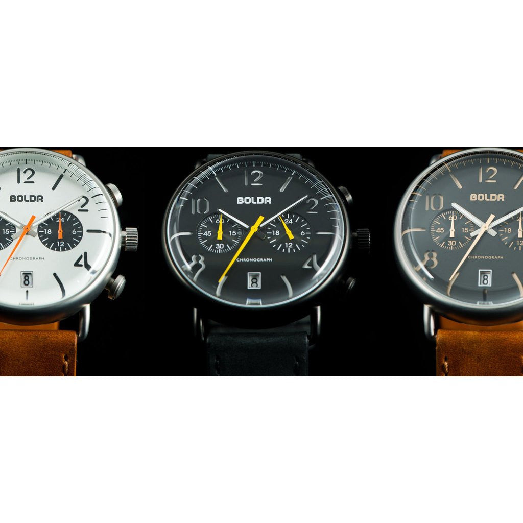 BOLDR Journey Chronograph Watch | Wasp