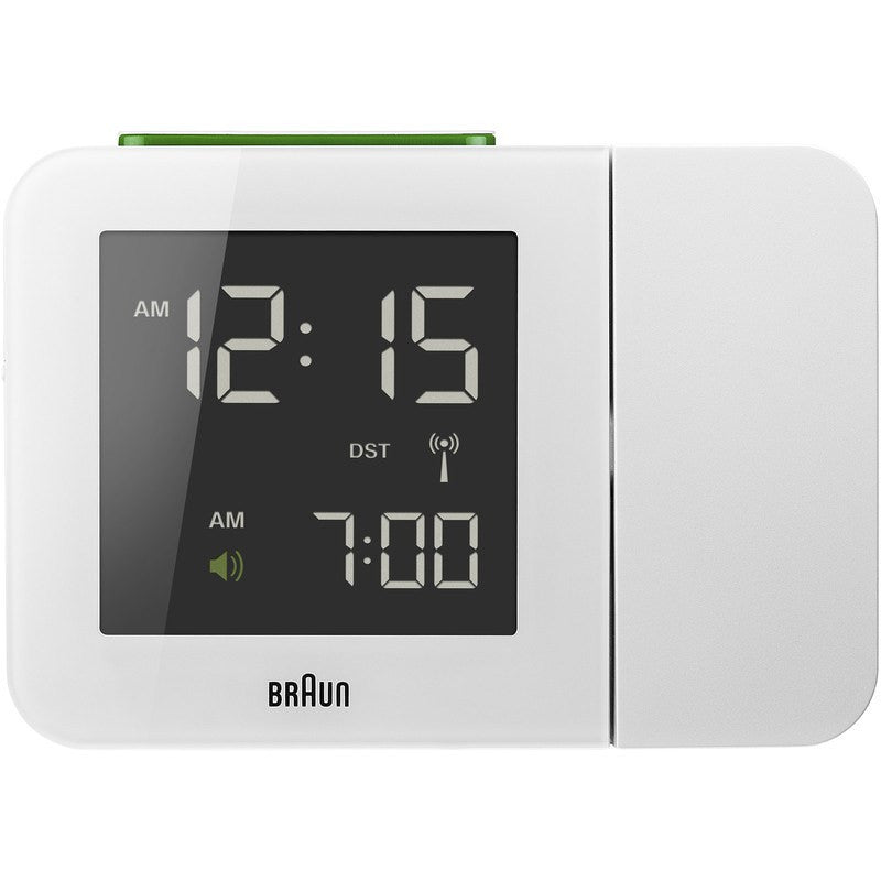 Braun Projection Clock | White BNC015WH-RC