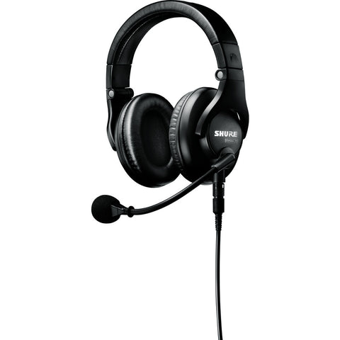 Shure BRH441M Single-Sided Broadcast Headset | Black