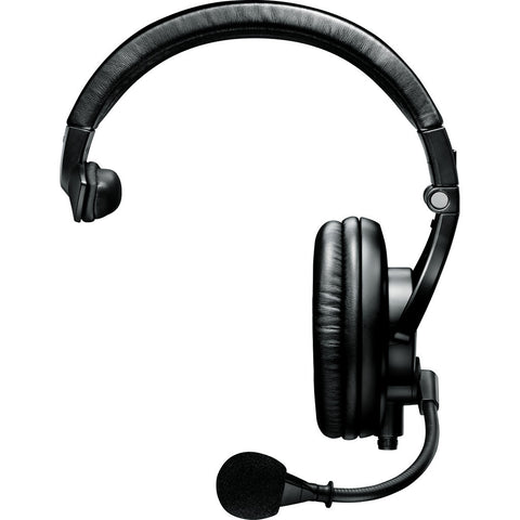 Shure BRH441M-LC Single-Sided Broadcast Headset | Black