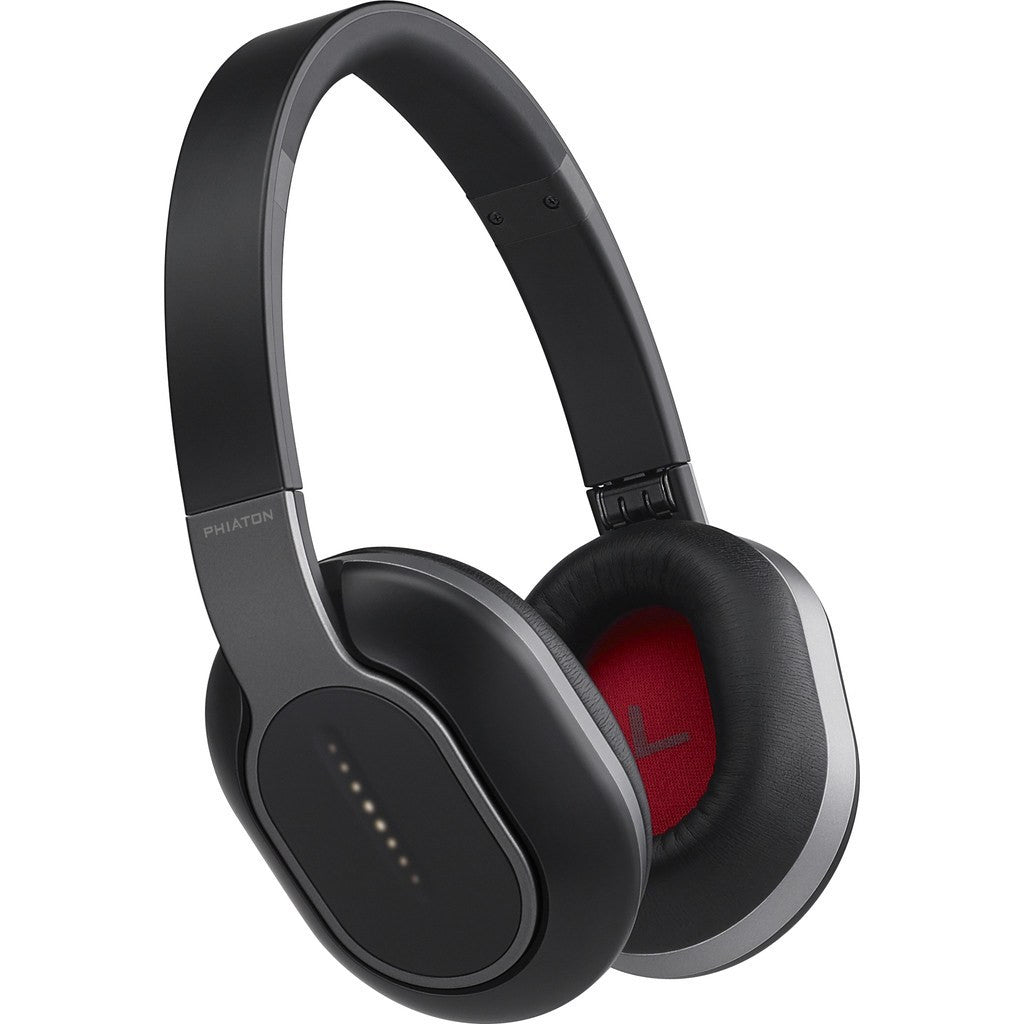 Phiaton Bluetooth Wireless Over-Ear Headphones | BT 460 Black BT460BLACK