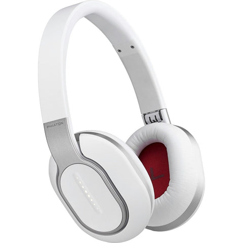 Phiaton Bluetooth Wireless Over-Ear Headphones | BT 460 White BT460WHITE