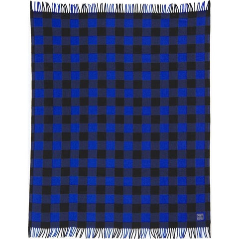 Faribault Buffalo Check Throw | Wool