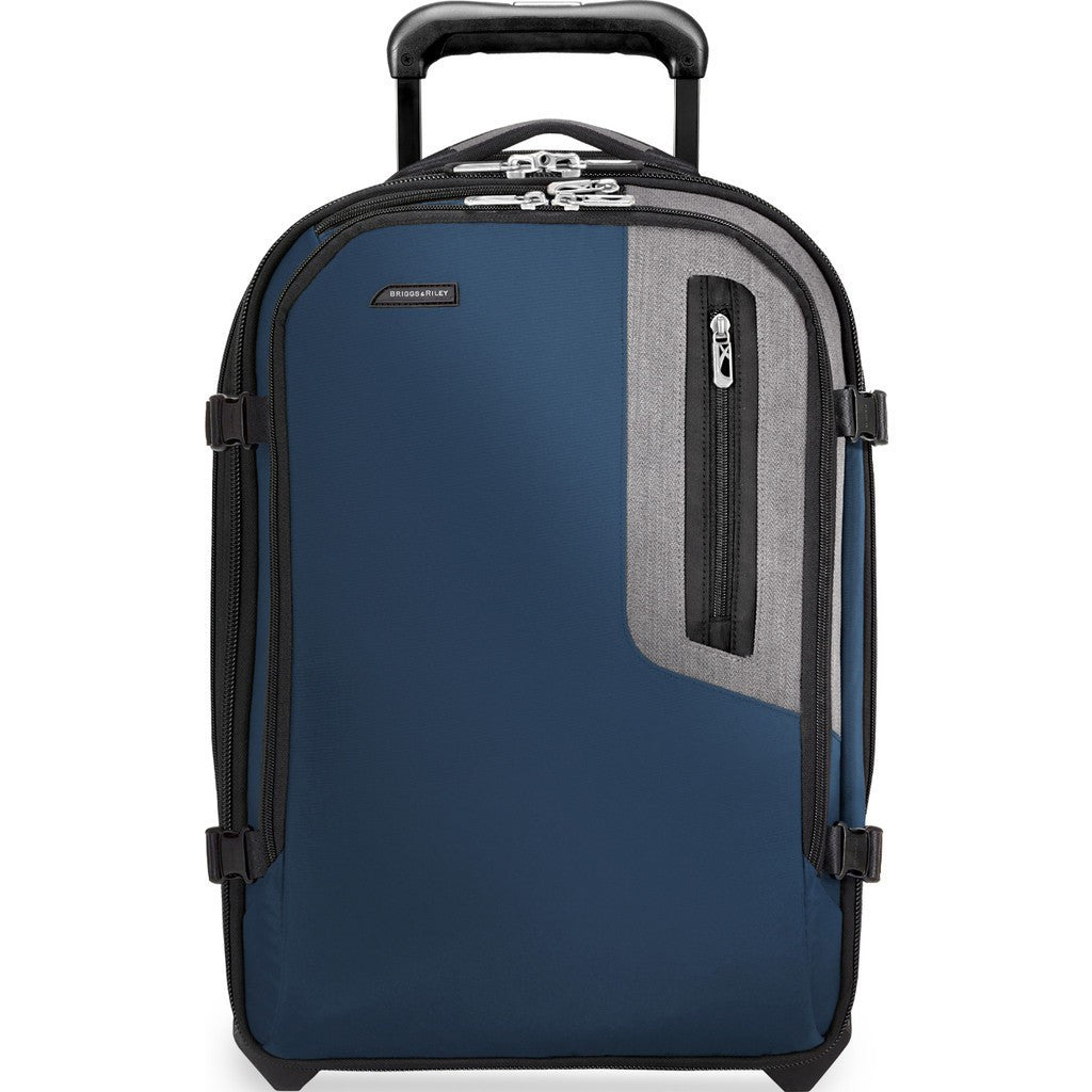 Briggs & Riley Explore Commuter Expandable Upright Suitcase | Blue BU220X