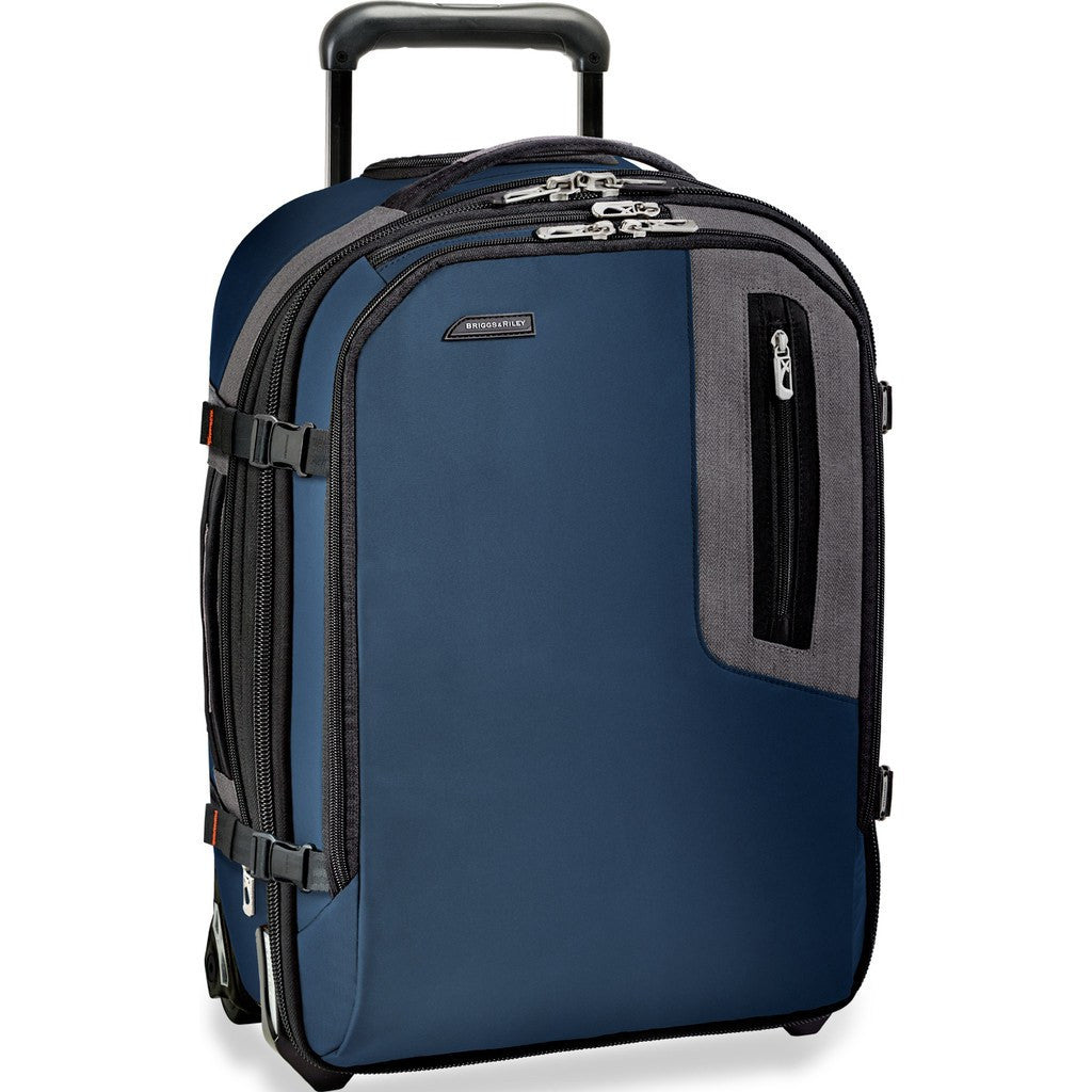 Briggs & Riley Explore Commuter Expandable Upright Suitcase | Blue