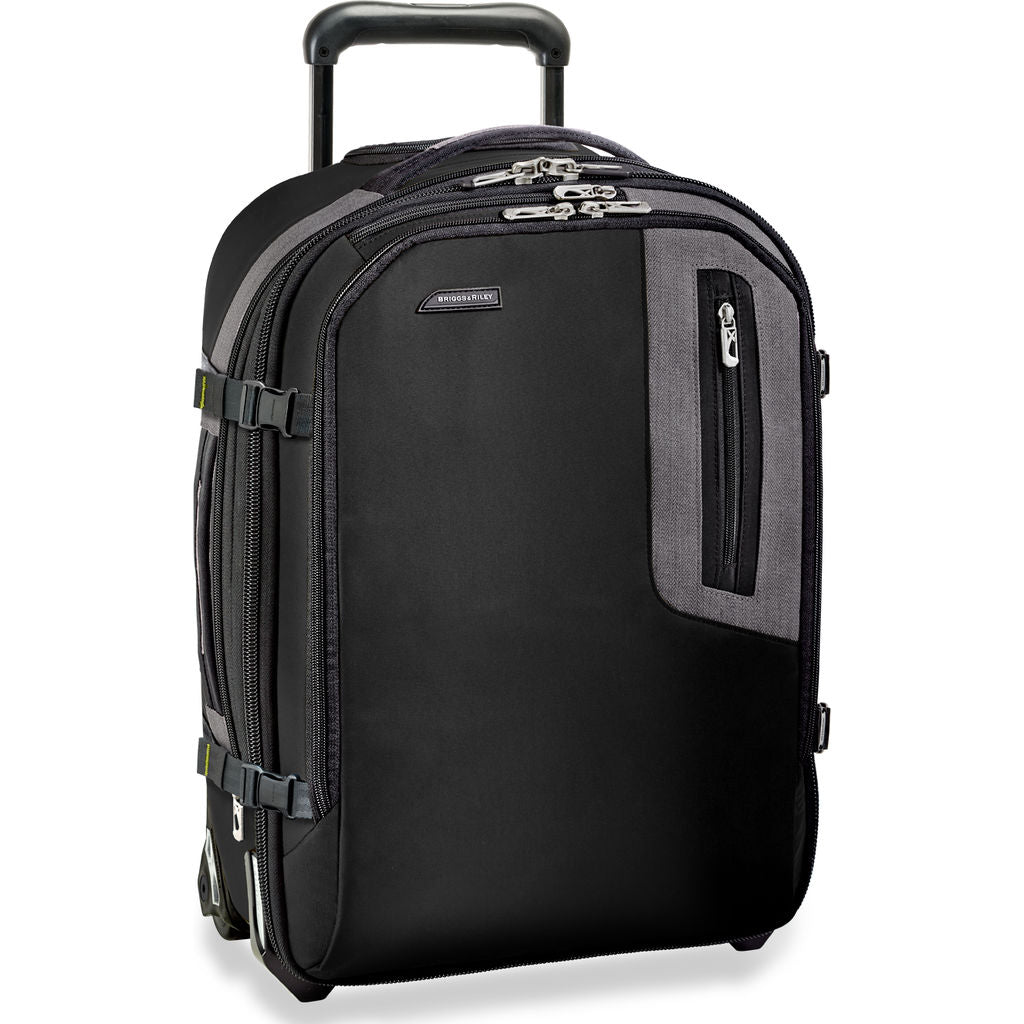 Briggs & Riley Explore Expandable Commuter Upright Suitcase | Black