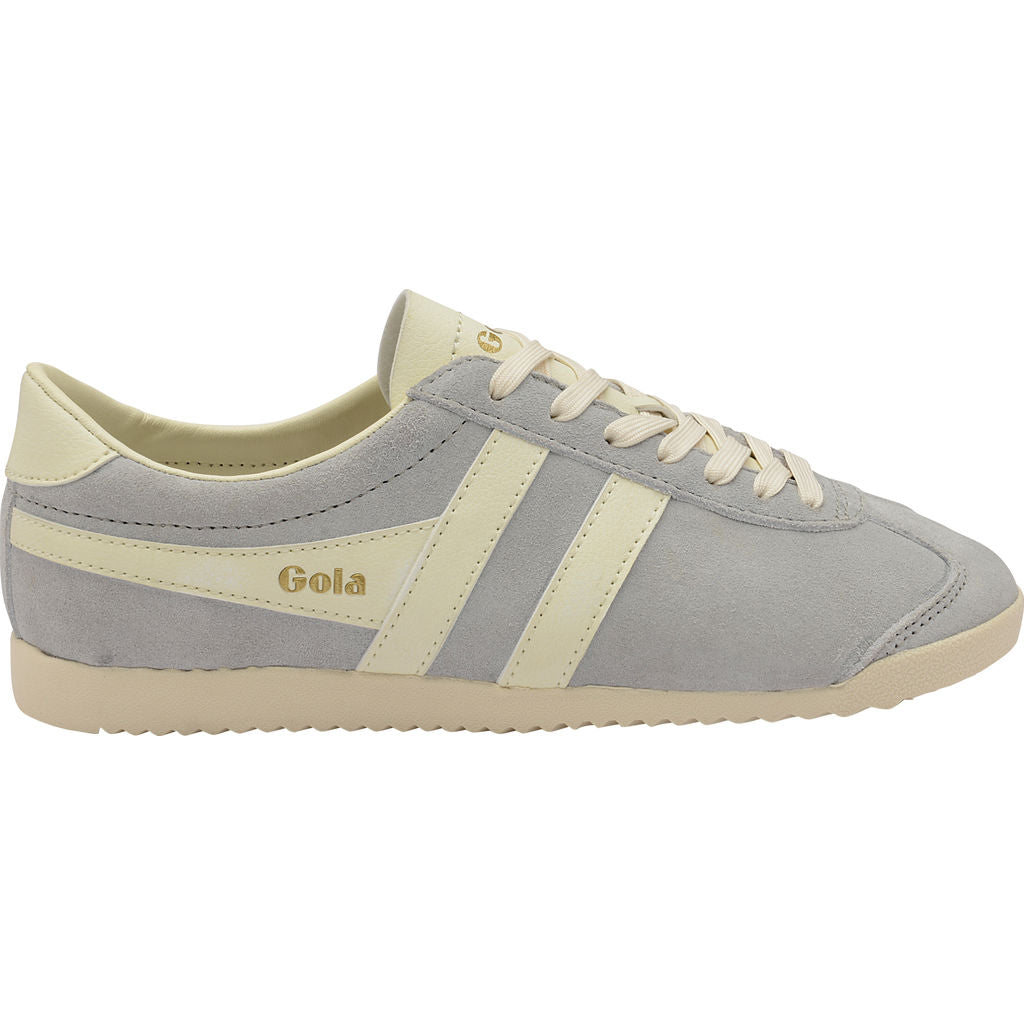 Gola Women's Bullet Suede Sneakers | Pale Grey/Off White ...