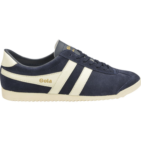 Gola Women's Bullet Suede Sneakers | Navy/Off White