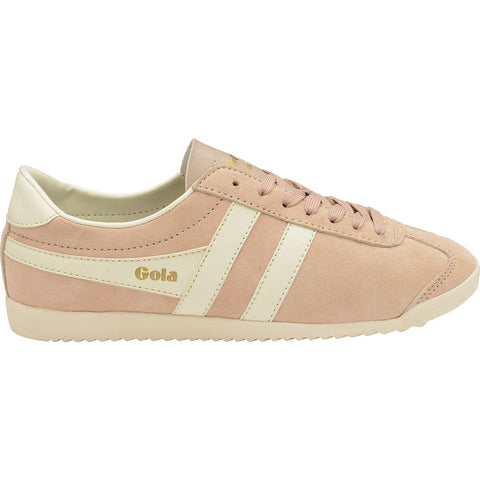 Gola Women's Bullet Suede Sneakers | Pale Pink/Off White