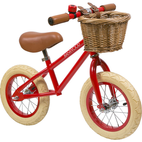 Banwood First Go! Kid's Balance Bike | Red- Bw-F1-Red