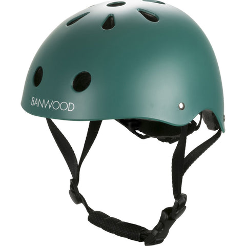 Banwood Kid's Helmet | Matte Dark Green- Bw-Helmet-Darkgreen