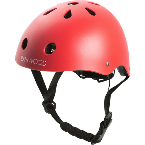 Banwood Kid's Helmet | Red- Bw-Helmet-Red