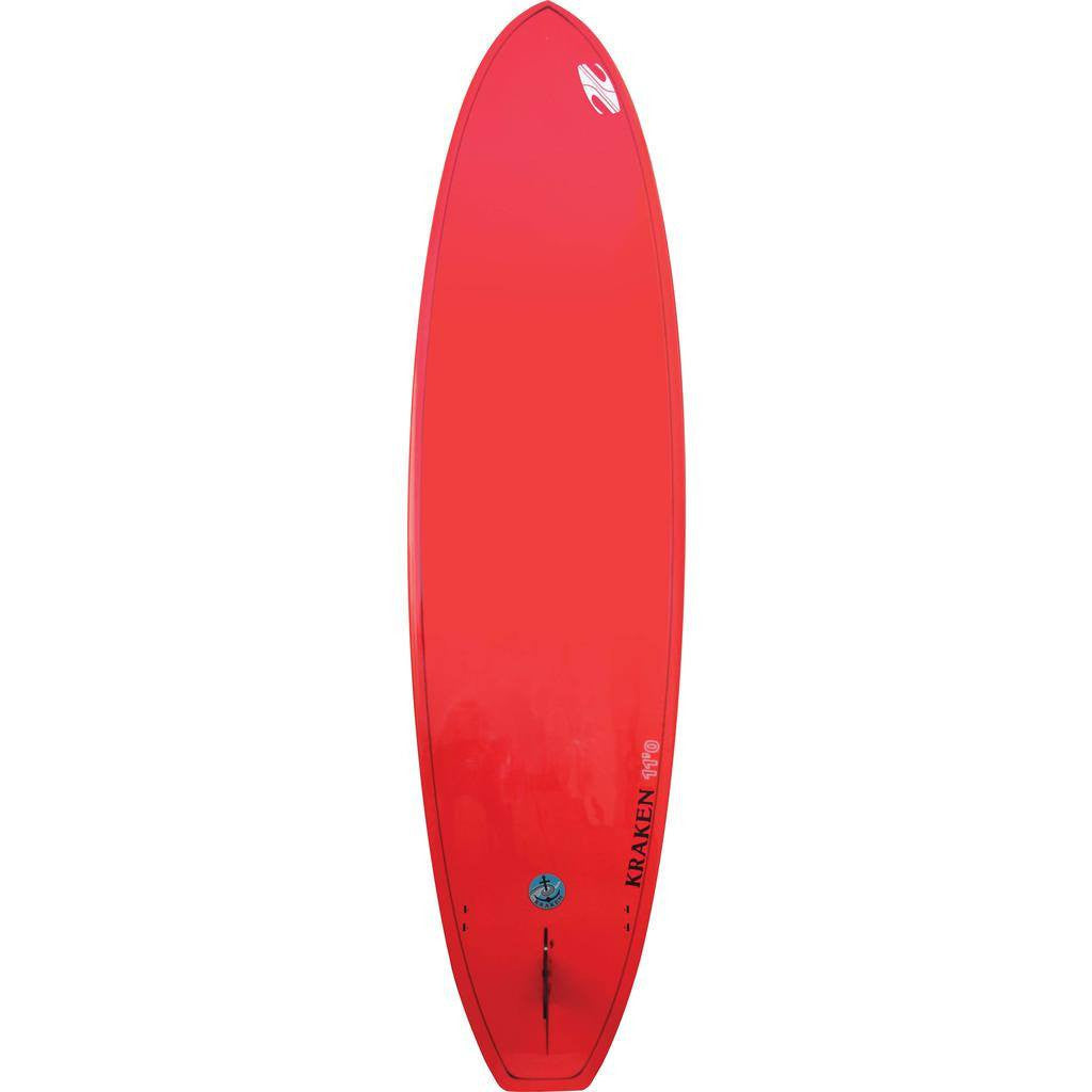 Boardworks Kraken 11' Stand-Up Paddle Board | Wood/Red