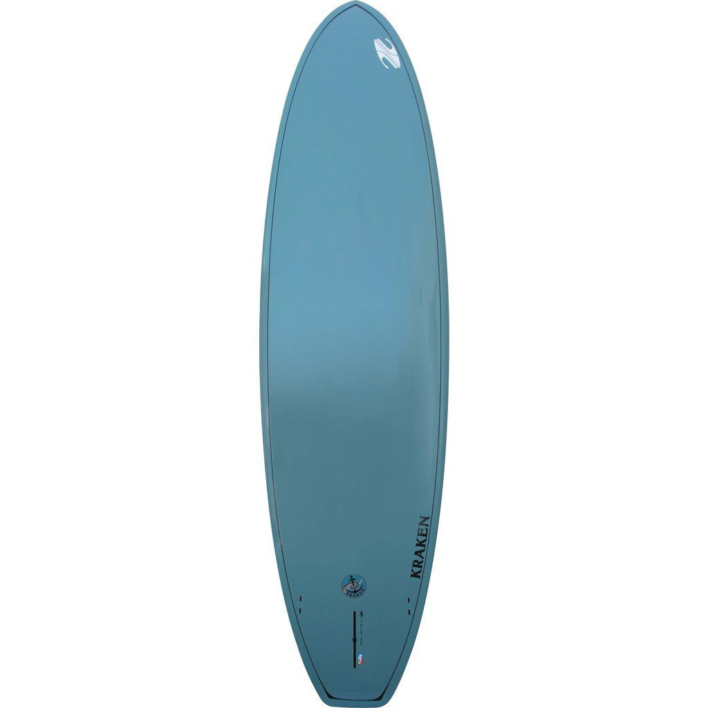 Boardworks Kraken 11' Stand-Up Paddle Board | Wood/Steel Blue