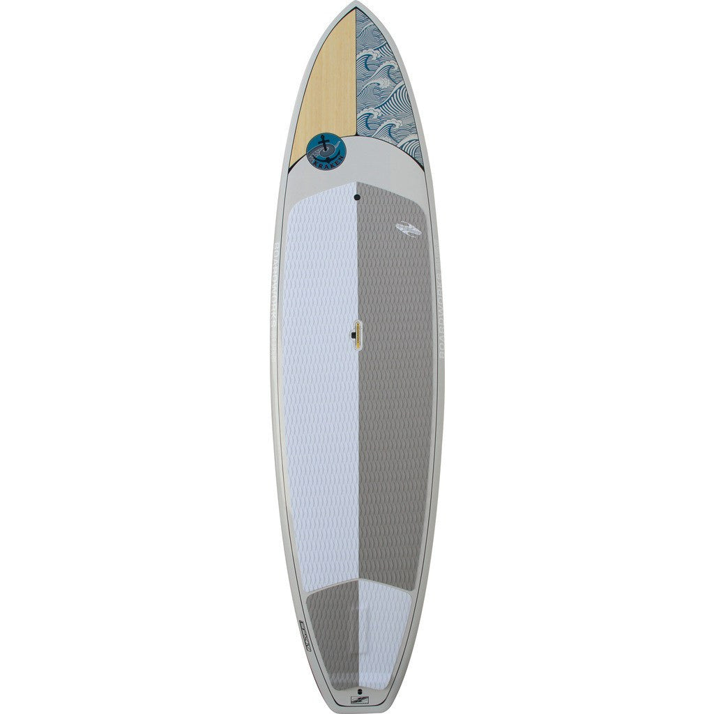 Boardworks Kraken 11' Stand-Up Paddle Board | Wood/Light Grey