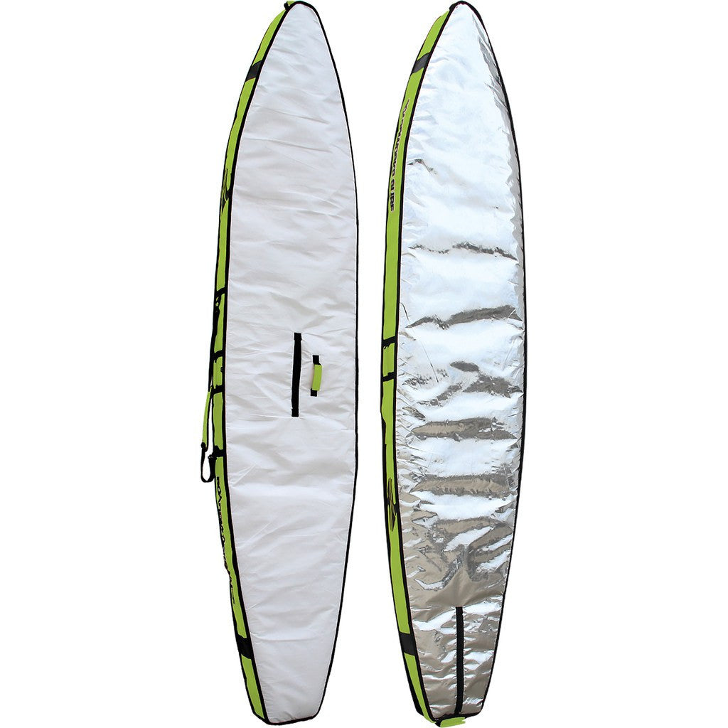 Boardworks Stand-Up Paddle Board Race Bag 14' | Green/White