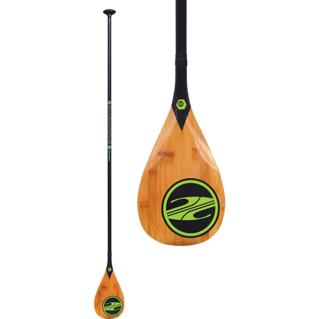 Boardworks Bamboo 1-Piece Wood/Paddle | Wood/Carbon