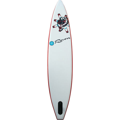 "Boardworks SHUBU Raven 12'6"" Inflatable Stand Up Paddle Board 