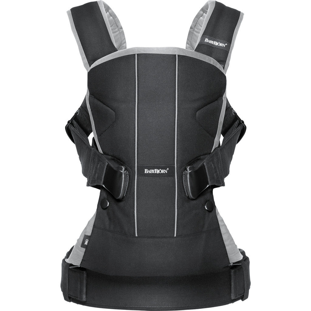 BABYBJORN Baby Carrier One Air | Silver 093004US