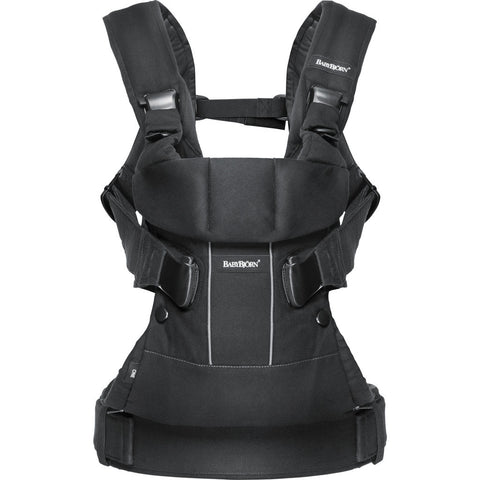 BABYBJORN Baby Carrier One | Black 093023US