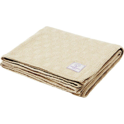 Faribault Baby Herringbone Cotton Blanket -Dusty Blue B4BHBL1850