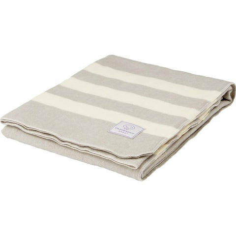 Faribault Baby Trapper Wool Blanket -Dusty Blue B4BTBL1881