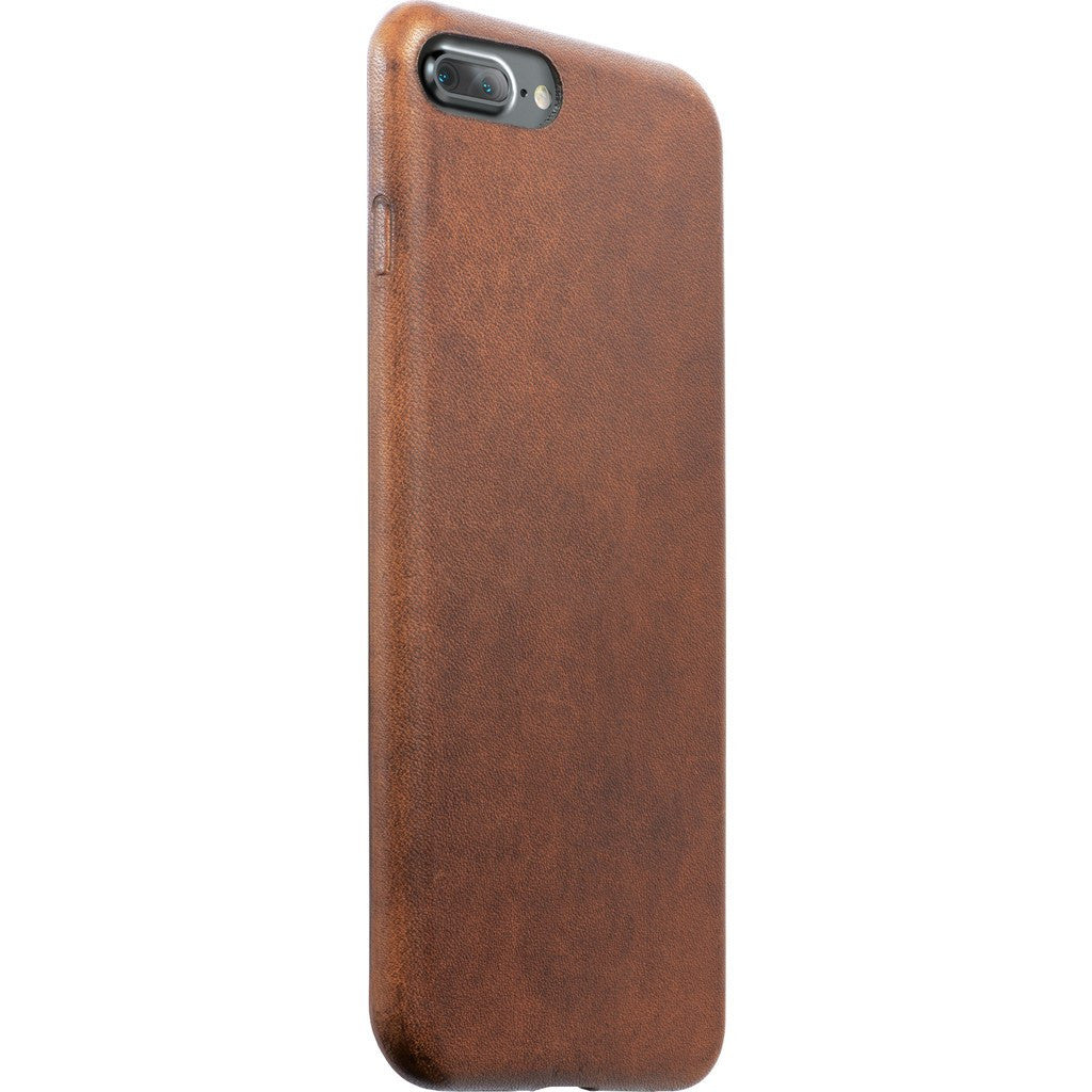Nomad Case for iPhone 7 Plus | Horween Brown Leather case-i7plus-brn