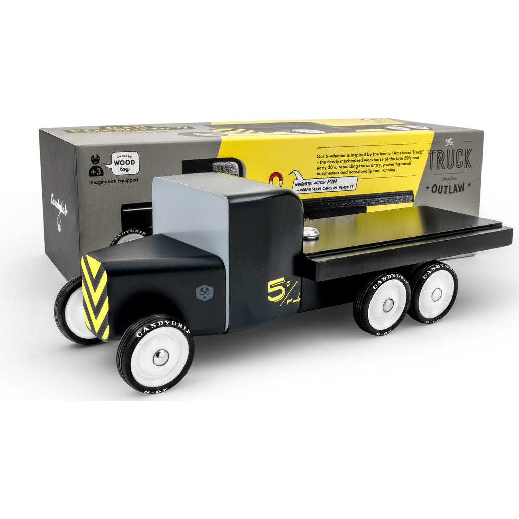 Candylab Bad Emergency Flatbed Truck | Black