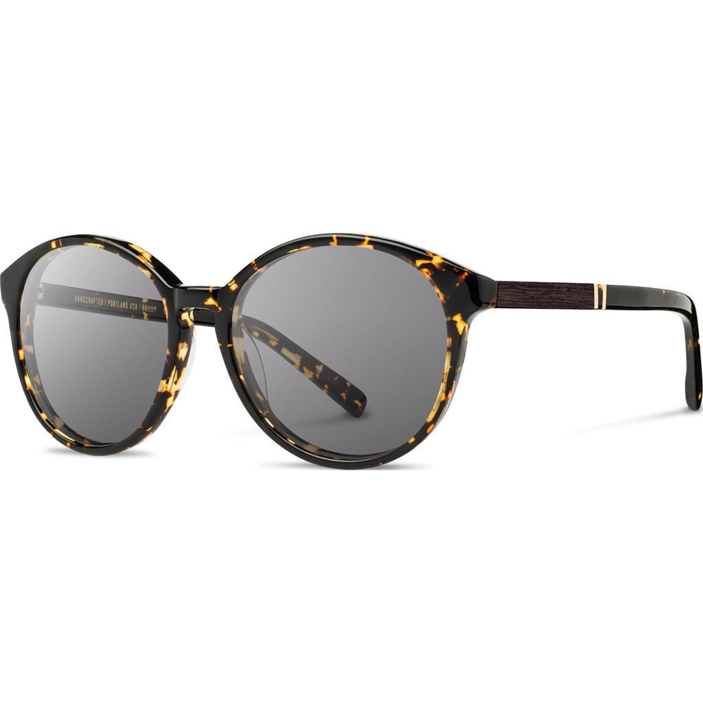 Shwood Bailey Acetate Sunglasses | Dark Speckle & Ebony / Grey WWAB2DSG