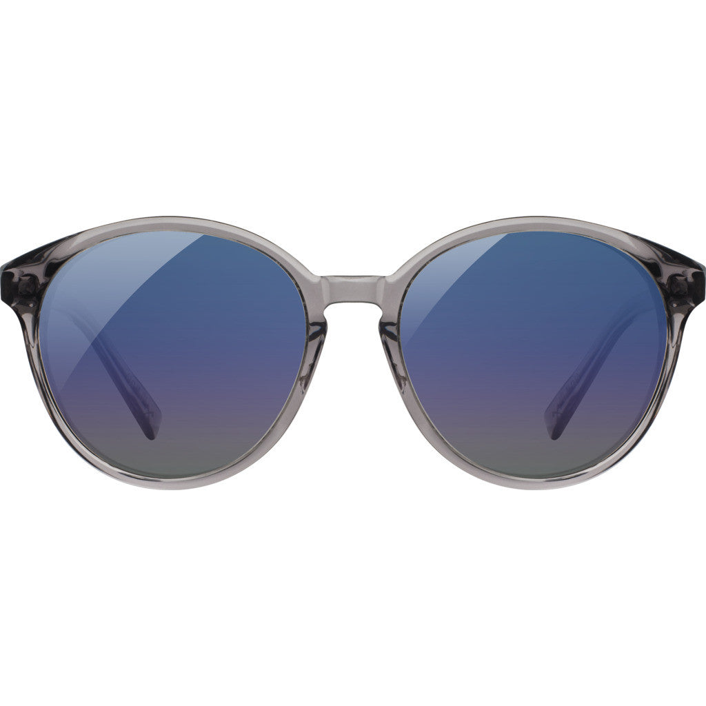 Shwood Bailey Acetate Sunglasses | Smoke & Abalone Shell / Blue Flash Polarized-WWAB2SASB3P
