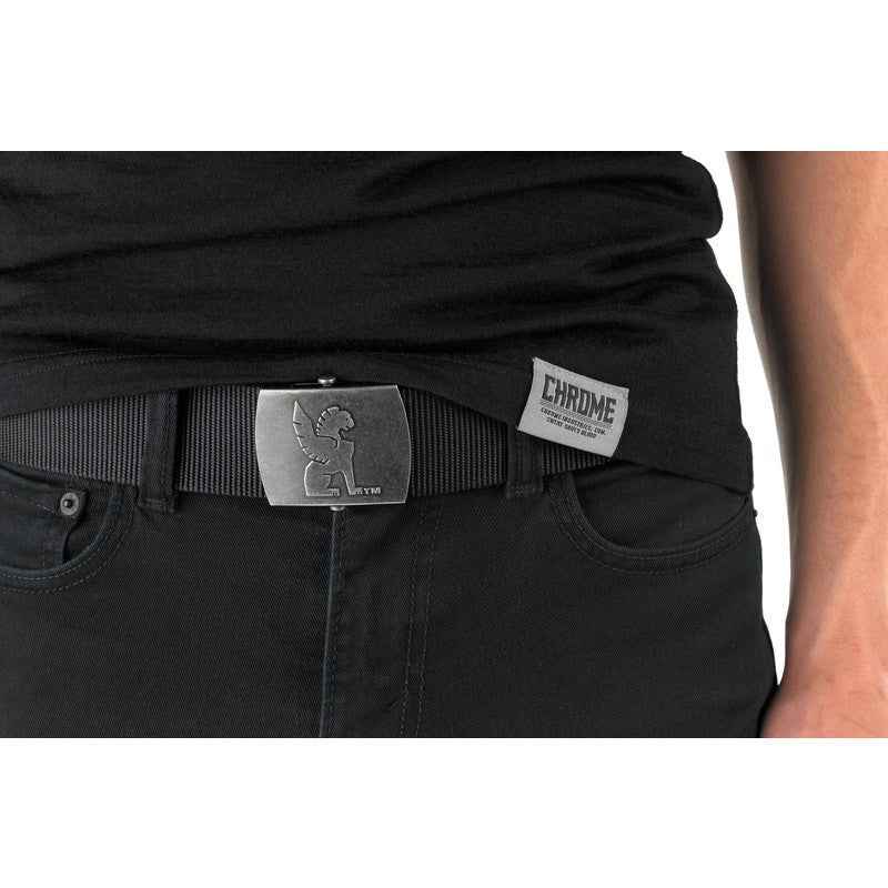 Chrome Ballistic 3000lb Army Belt | Black
