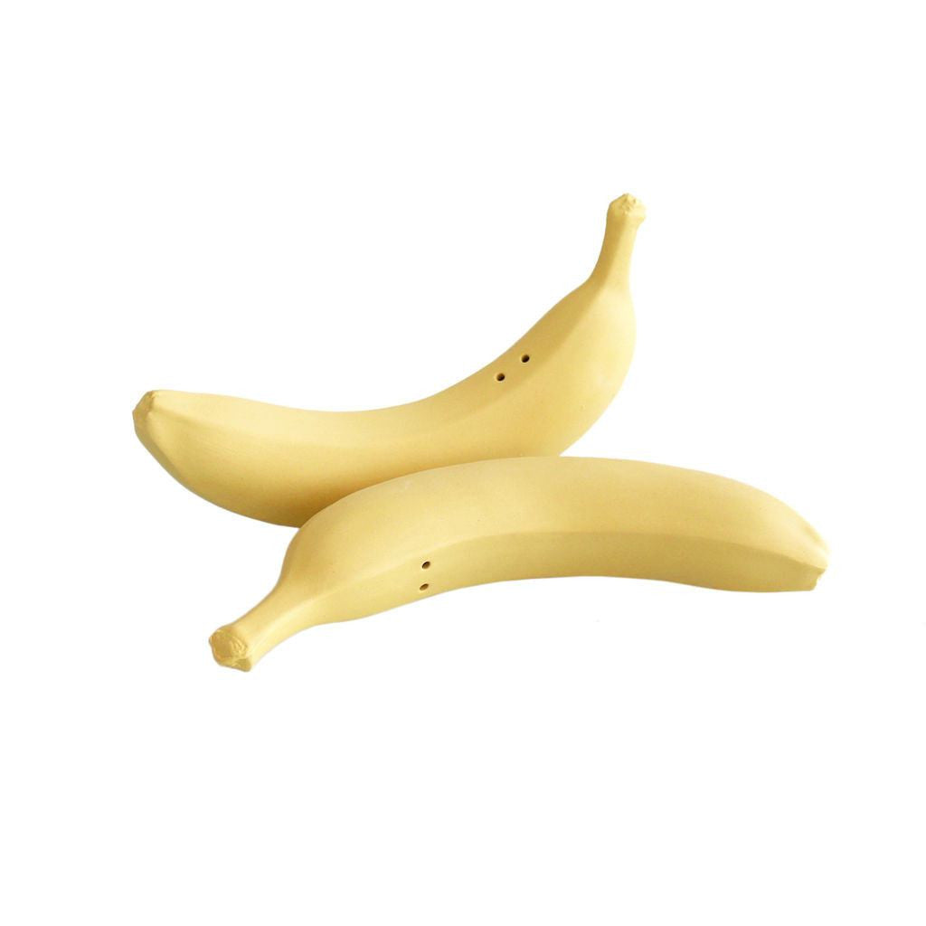 Michiko Shimada Banana Salt and Pepper Shakers | Yellow