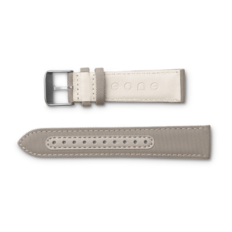 Eone Bradley Wristband Canvas & Leather | Beige S-BEIGE