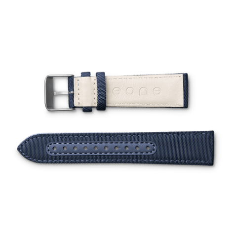 Eone Bradley Wristband Canvas & Leather | Blue S-BLUE