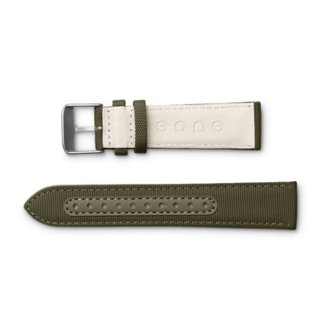 Eone Bradley Wristband Canvas & Leather | Green S-GREEN