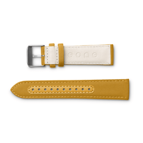 Eone Bradley Wristband Canvas & Leather | Yellow S-YELLOW