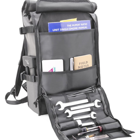 Chrome Motor Barrage Backpack | Motor Grey
