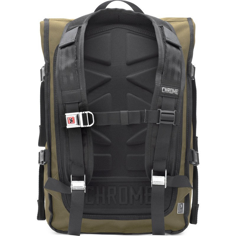 Chrome Waxed Poly Ltd Barrage Cargo Backpack | Brown